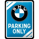METAL SIGN *BMW PARKING..