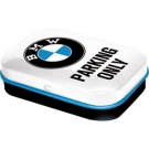 PILL BOX BMW PARKING ONLY