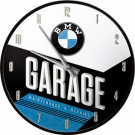 WALLCLOCK BMW *GARAGE*