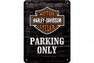 METAL SIGN *H-D PARKING