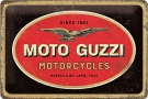 Metal Sign Moto-Guzz Logo
