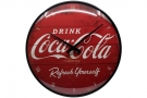 Retro Wallclock Coca-Cola
