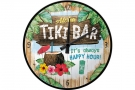 Retro Wallclock Tiki Bar