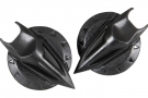 Nishua Helmet Peak Screw Enduro Carbon