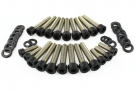 SCREW SET, BLACK